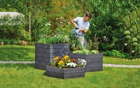 Ergonomic gardening with raised garden beds